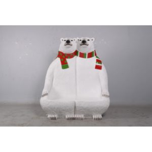 H-170160 Bear Polar Bench - IJsbeer