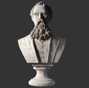 H-090054 Charles Dickens Buste