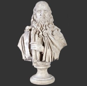 H-090017 Leonardo Da Vinci - Buste
