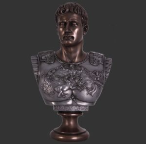 H-090042 Augustus Caesar - Buste