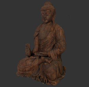 H-120042 Giant Buddha Dark - Boeddha