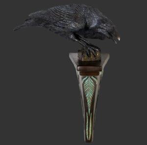 H-120032 Raven Wings Down - Raaf