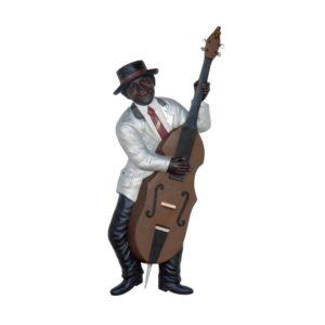 2894 Jazz Band Bass Guitar Wall Decor