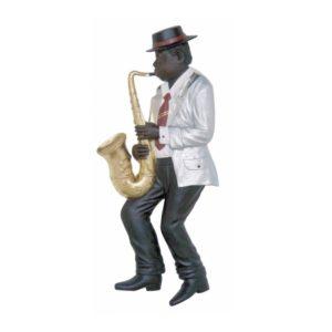 2892 Jazz Band Saxophone Player Wall Decor