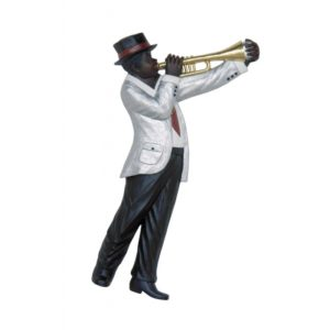 2891 Jazz Band Trumphet Player Wall Decor