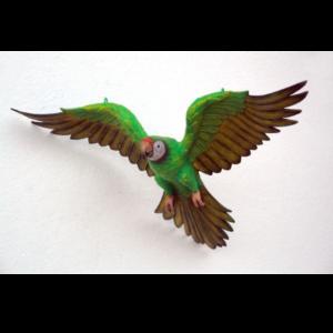 JZ Parrot Flying Green - Papegaai