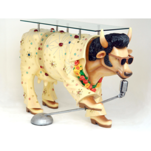 7023 The King Cow Table - Elvis Presley
