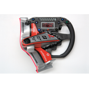 2555 ML Nose Cone and Steering Wheel - Formule 1