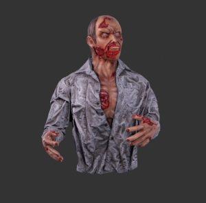 H-140104 Zombie Wall Decor - Halloween