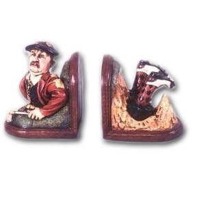 OTBEG Golf Bookends - Golfer