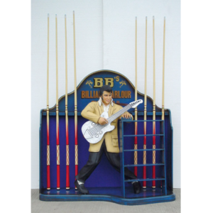 2015 Elvis Presley with Cue Rack - Keurek