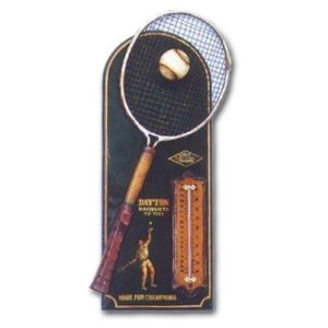 THTEP Tennis Pubsign Thermometer - Pubbord