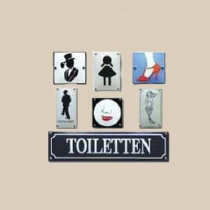 Toiletborden