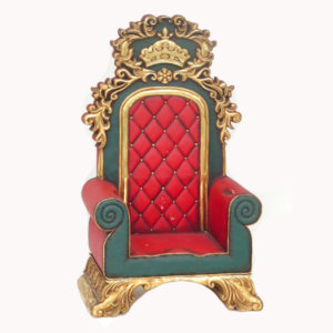 1618 Santa Throne - Kerstman