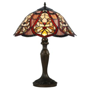 DSTF-105 TIFFANY STYLE TABLE LAMP - Tiffanylamp
