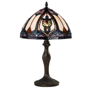 DSTF-106 TIFFANY STYLE TABLE LAMP - Tiffanylamp
