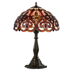 DSTF-112 TIFFANY STYLE TABLE LAMP - Tiffanylamp