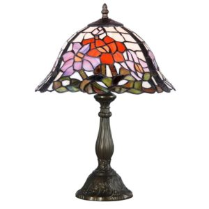 DSTF-113 TIFFANY STYLE TABLE LAMP - Tiffanylamp