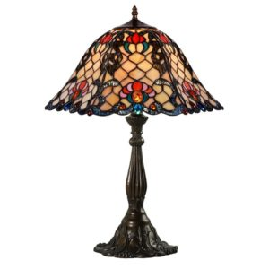 DSTF-116  TIFFANY STYLE TABLE LAMP - Tiffanylamp