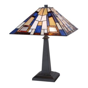 DSTF-118 TIFFANY STYLE TABLE LAMP - Tiffanylamp