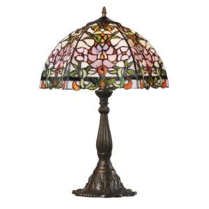 DSTF-122 TIFFANY STYLE TABLE LAMP - Tiffanylamp