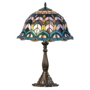 DSTF-125 TIFFANY STYLE TABLE LAMP - Tiffanylamp