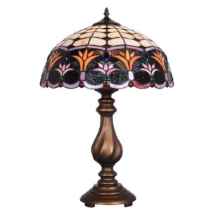 DSTF-126 TIFFANY STYLE TABLE LAMP - Tiffanylamp