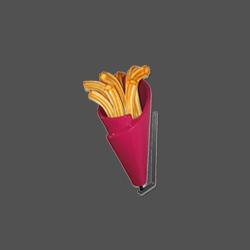 churros beeld croissant wafel decoratie
