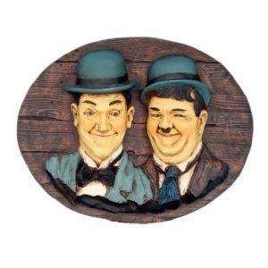 078 Laurel & Hardy Pubbord - de Dikke & de Dunne
