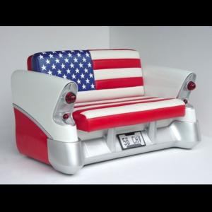 2024-AF Sofa 56 Chevy ( American Flag ) - Autobank