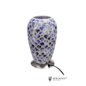 700844 - Mozaiek Glass Lamp 27cm