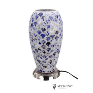 700845 - Mozaiek Glass Lamp 16x16x32cm