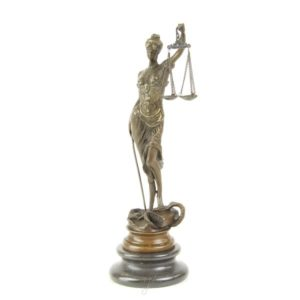 DSBR-174 SCULPTURE LADY JUSTICE - Vrouwe justitia