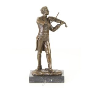 DSFA-26 SCULPTURE  VIOLIN PLAYER - Vioolspeler