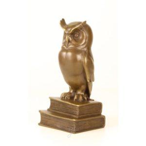 DSSL-57 SCULPTURE WISE OWL - Uil