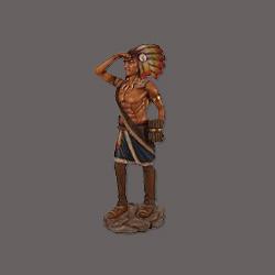 cowboy beeld indianen indiaan beelden