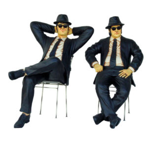1525 BROTHERS SITTING - Blues Brothers