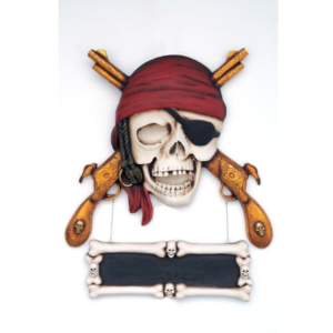 EX Pirate Skull Guns Wall Decor - Piraat