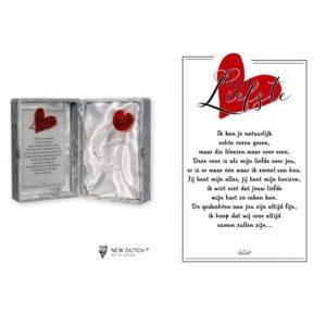 """2242 - Rosebox """"Mijn Liefste"""" - 16 x 23 cm"""