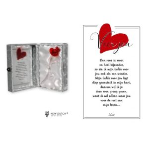 "2245 - Rosebox ""Voor jou"" - 16 x 23 cm"