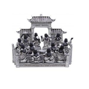 600490 - Geluks Buddha Zelfvertrouwen - 8 cm