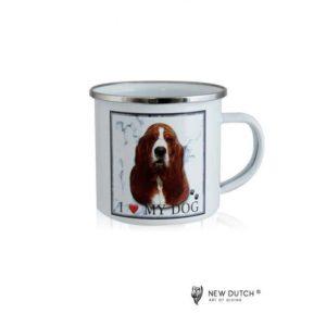 1020 - Metal Mug - Basset