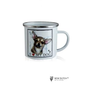 1021 - Metal Mug - Chihuahua Hound