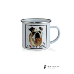 1024 - Metal Mug - Bulldog