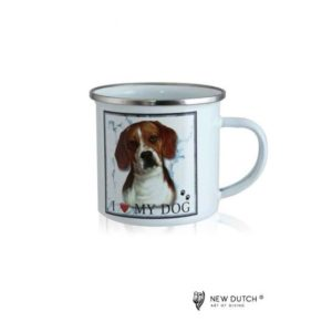 1026 - Metal Mug - Beagle
