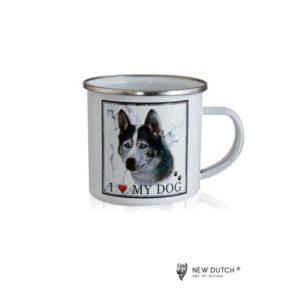 1033 - Metal Mug - Husky