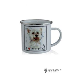 1041 - Metal Mug Westie New Dutch ®