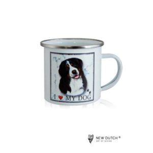 1047 - Metal Mug - Bernese Mountaindog