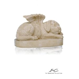 300716 - Angel dog Urn - 750 cc
