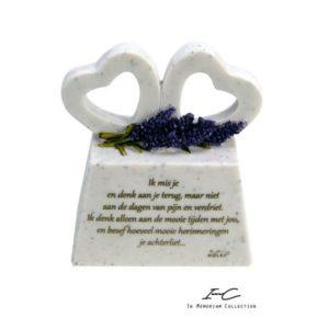 300875 - Marble Heart In Memoriam - ik mis je